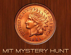 """MIT Mystery Hunt"" Indian head penny"