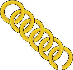A golden chain of links