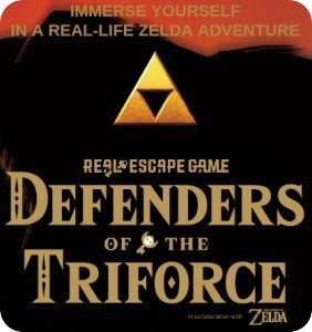 Real Escape Game's Defenders of the Triforce