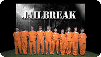 Channel 5's Jailbreak title card