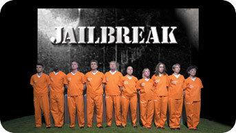 Channel 5's Jailbreak title card