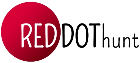 RED DOT hunt logo